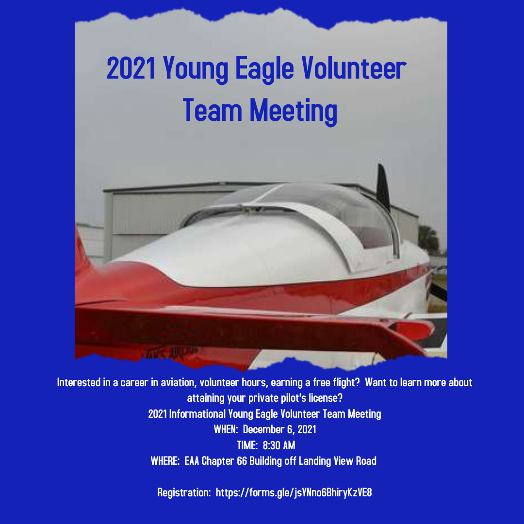 Young Eagle Volunteer Team Meeting